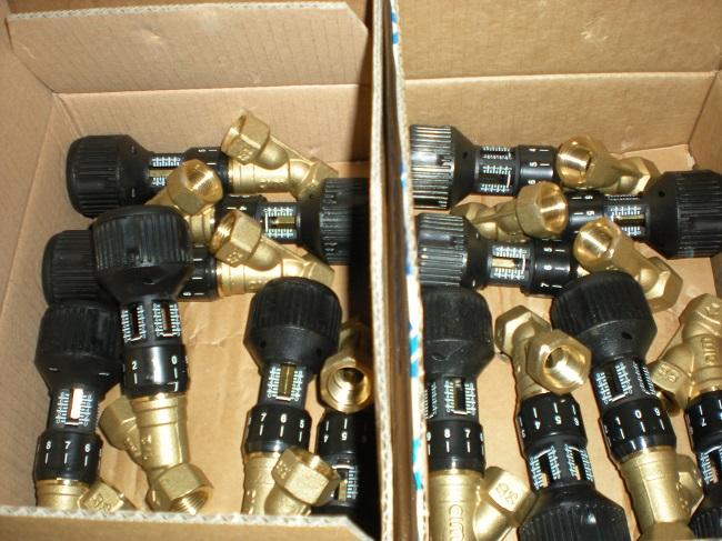 Балансировочные клапаны «CIM727» из Италии