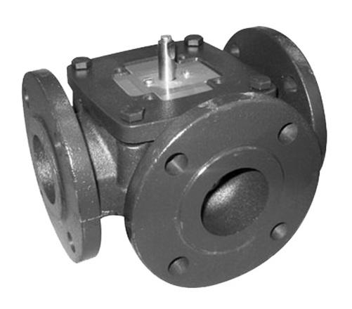 Клапан 3-х ходовой с PTFE уплотнением по штоку, Kv=330
