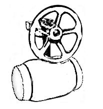 Кран балломакс с редуктором