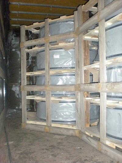 Отгрузка втулок защиты сварного шва для нефтепровода