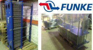 Отгрузка теплообменников Funke мощностью 4 000 кВт каждый
