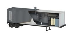 Транспортабельная котельная установка